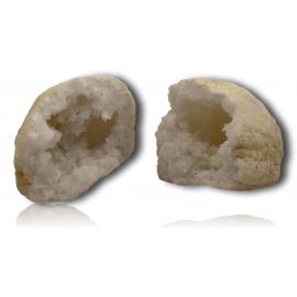 Géode de quartz du Maroc