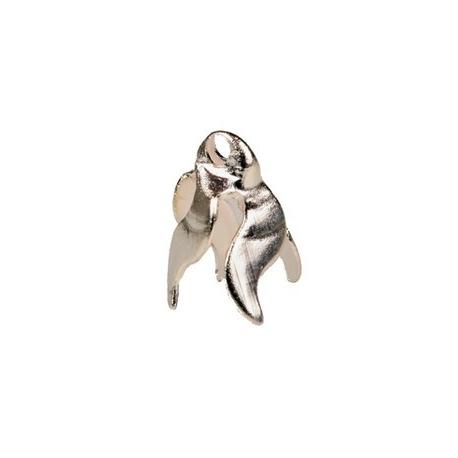 Clochette dorée ou argentée, paquet de 100 pièces