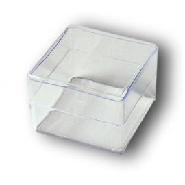Boite transparente 65x65x45 mm