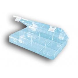 Boite transparente 6 cases