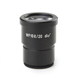 Oculaire hyper grand champ WF10x /20 milimétré