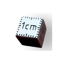Cube échelle de comparaison 1cm