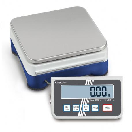 Balance plateforme haute précision 2500g / 0.01 g