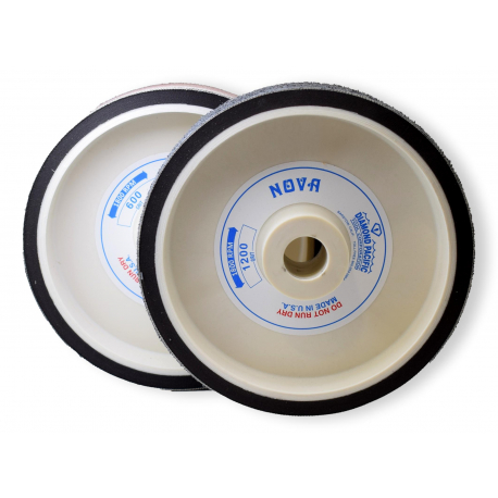 Meule diamantée souple Nova, Ø 200X50 mm, grain 8000