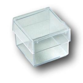 Boîtes en plastique transparentes