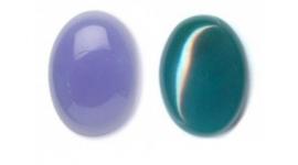 Agate bleu
