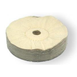 Meules de polissage en feutre, coton et cuir