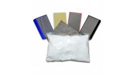 Bloc de polissage manuel à pastilles diamantées