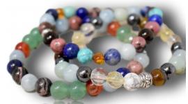 Bracelets pour la lithotherapie