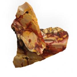 Tranches de pierres bruts