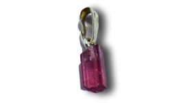 pendentifs en Tourmaline rose