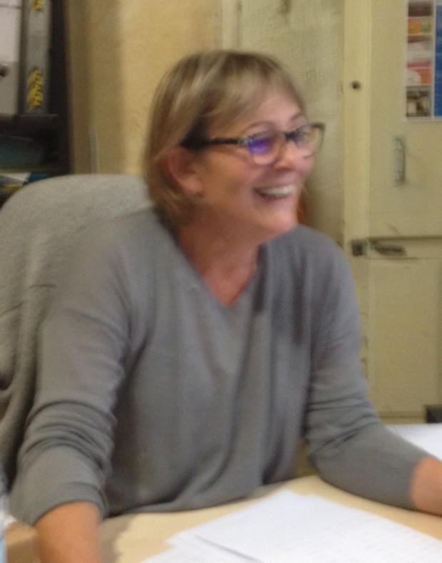 Valerie notre secretaire