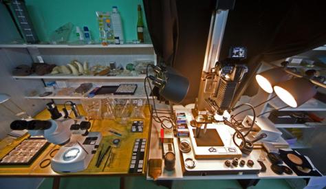 laboratoire de microphotographie 1