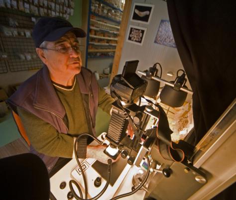 laboratoire de microphotographie